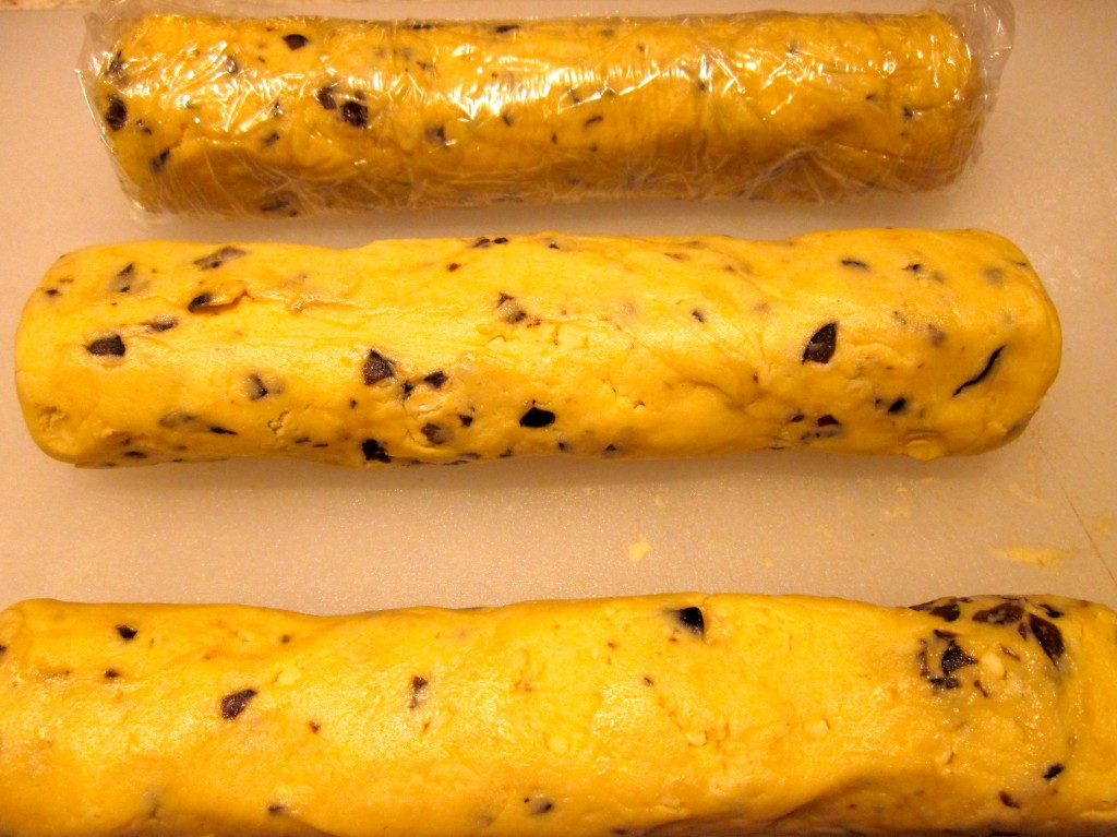 Pastry logs, ready for the Big Chill