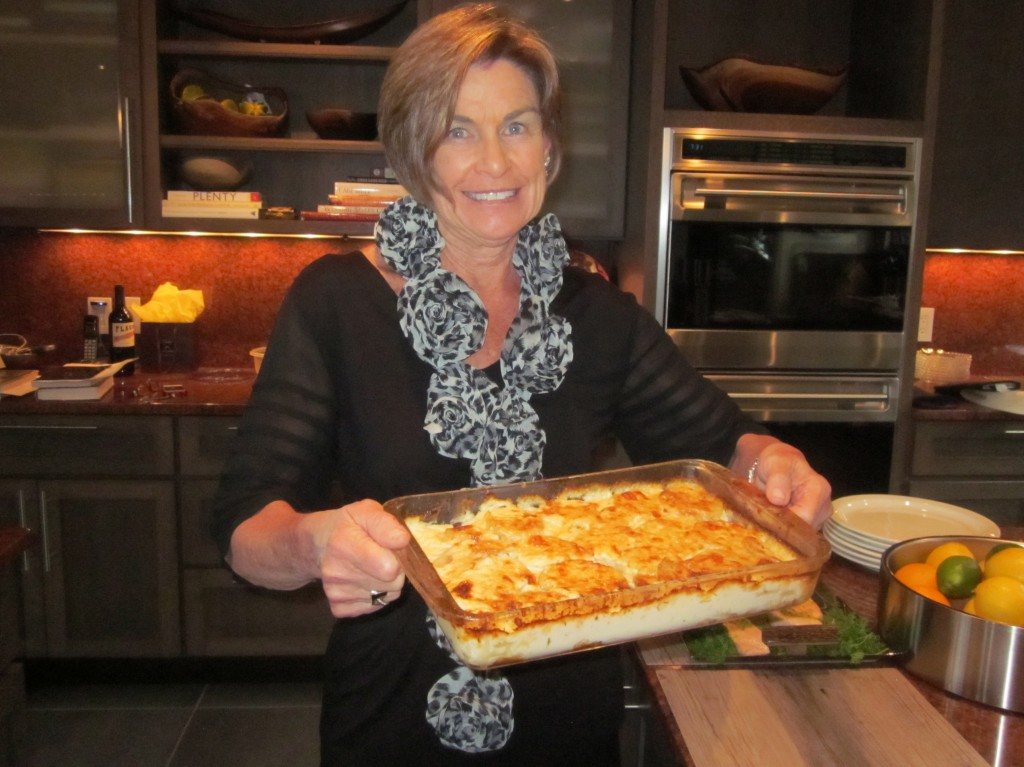 A French Fridays with Dorie make-up recipe, Dauphinois Pommes (potato gratin)