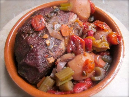 MOM'S POT ROAST, ALL GUSSIED UP