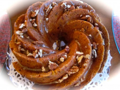 GOBBLE, GOBBLE: ALL-IN-ONE HOLIDAY BUNDT