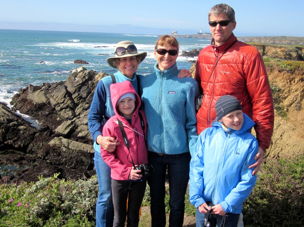 Our last family visit to Cambria.........anticipating manmy more.