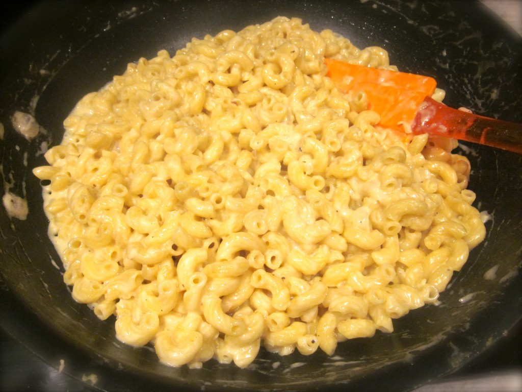 This week's FFWD recipe choice, Dressy Pasta Risotto. In America we call this Macaroni & Cheese.