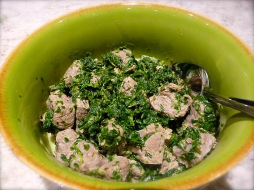 Green-as-Spring Lamb Stew