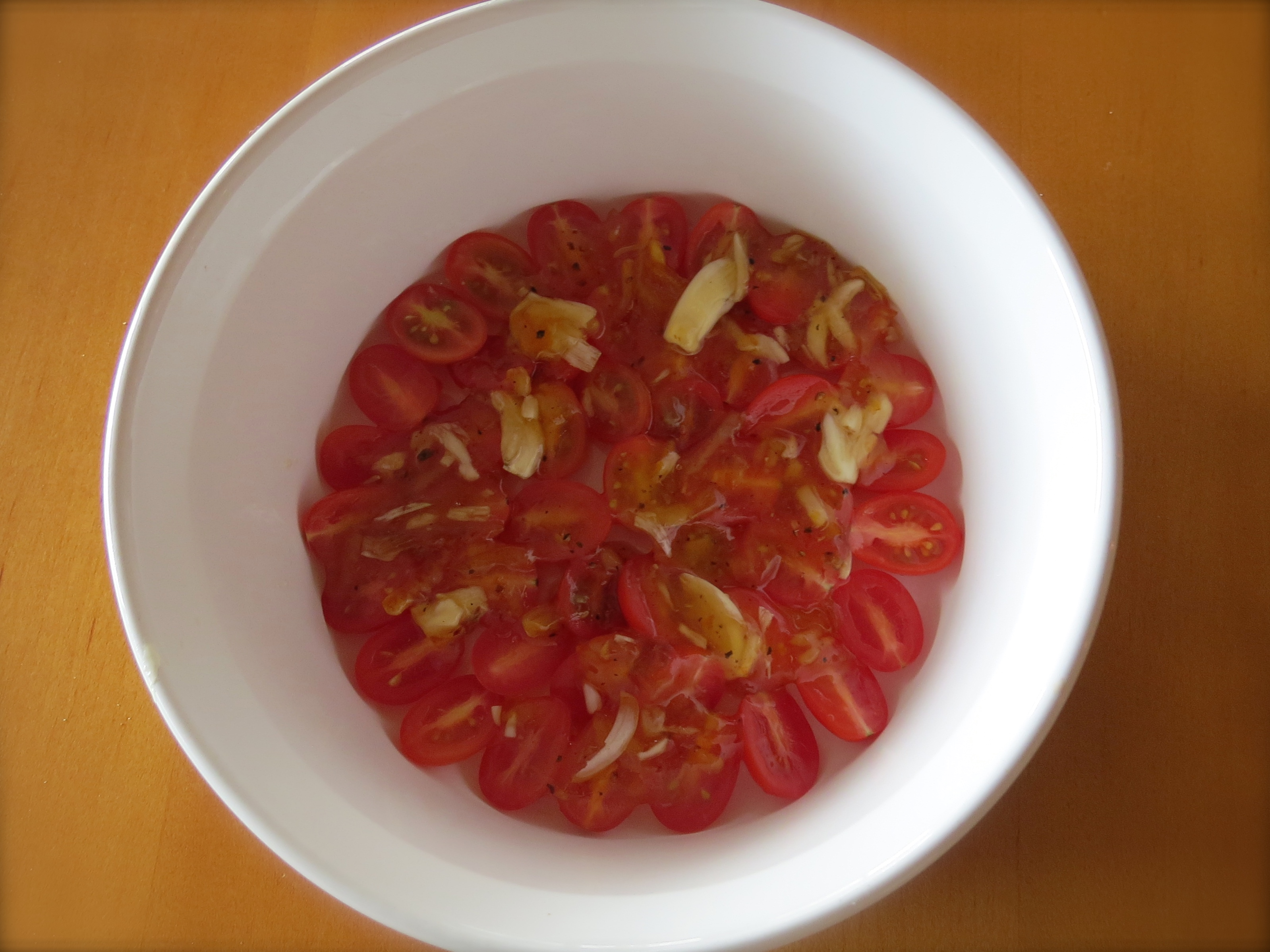 Honey-roasted Cherry Tomatoes, an easy topping to make and delicious on risotto and grilled or roasted vegetables.