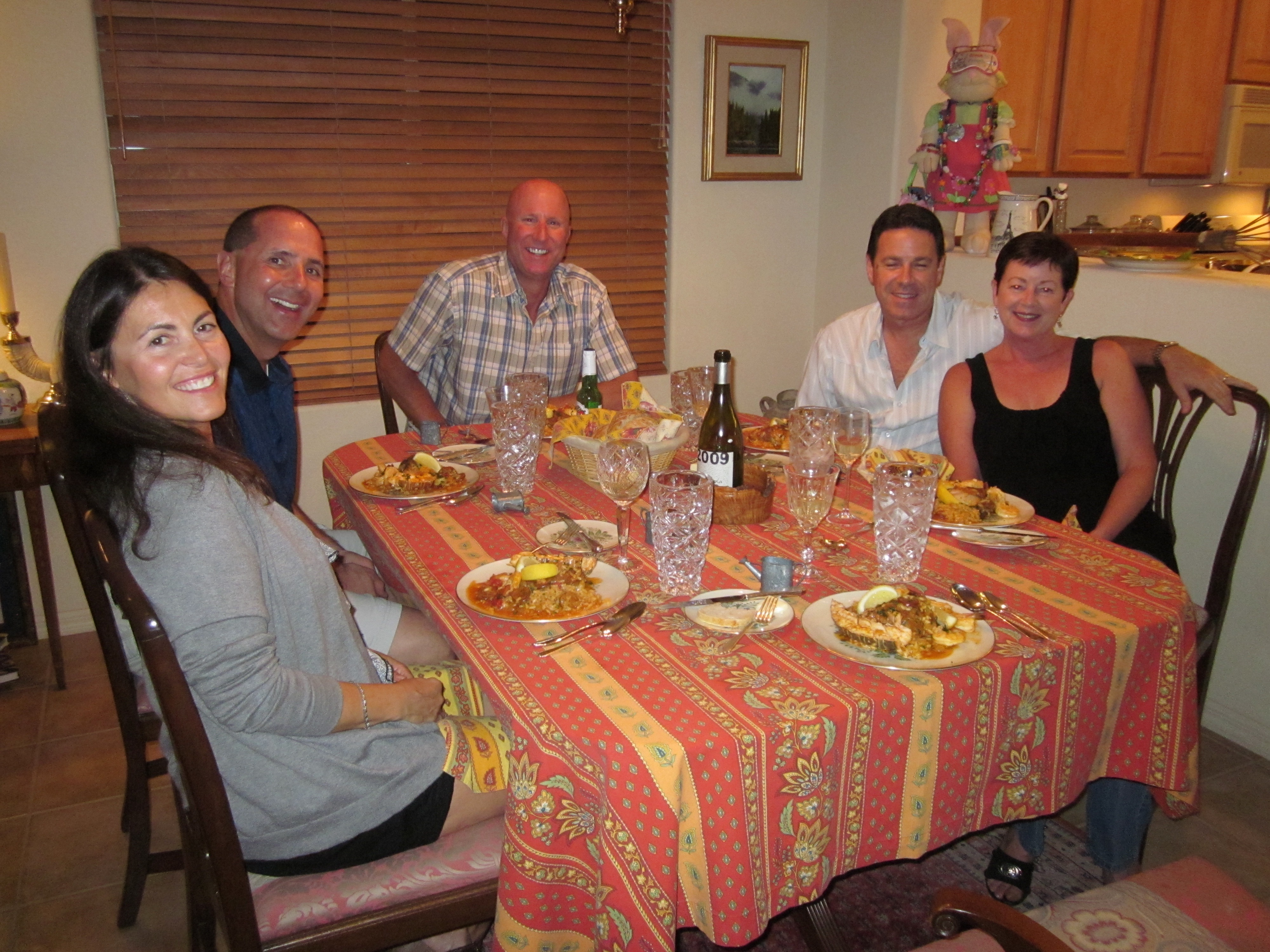 It all began in Henderson, Nevada with L to R: Adriana, Dominick, Ray, Bobby (Adriana's husband) and Michele.