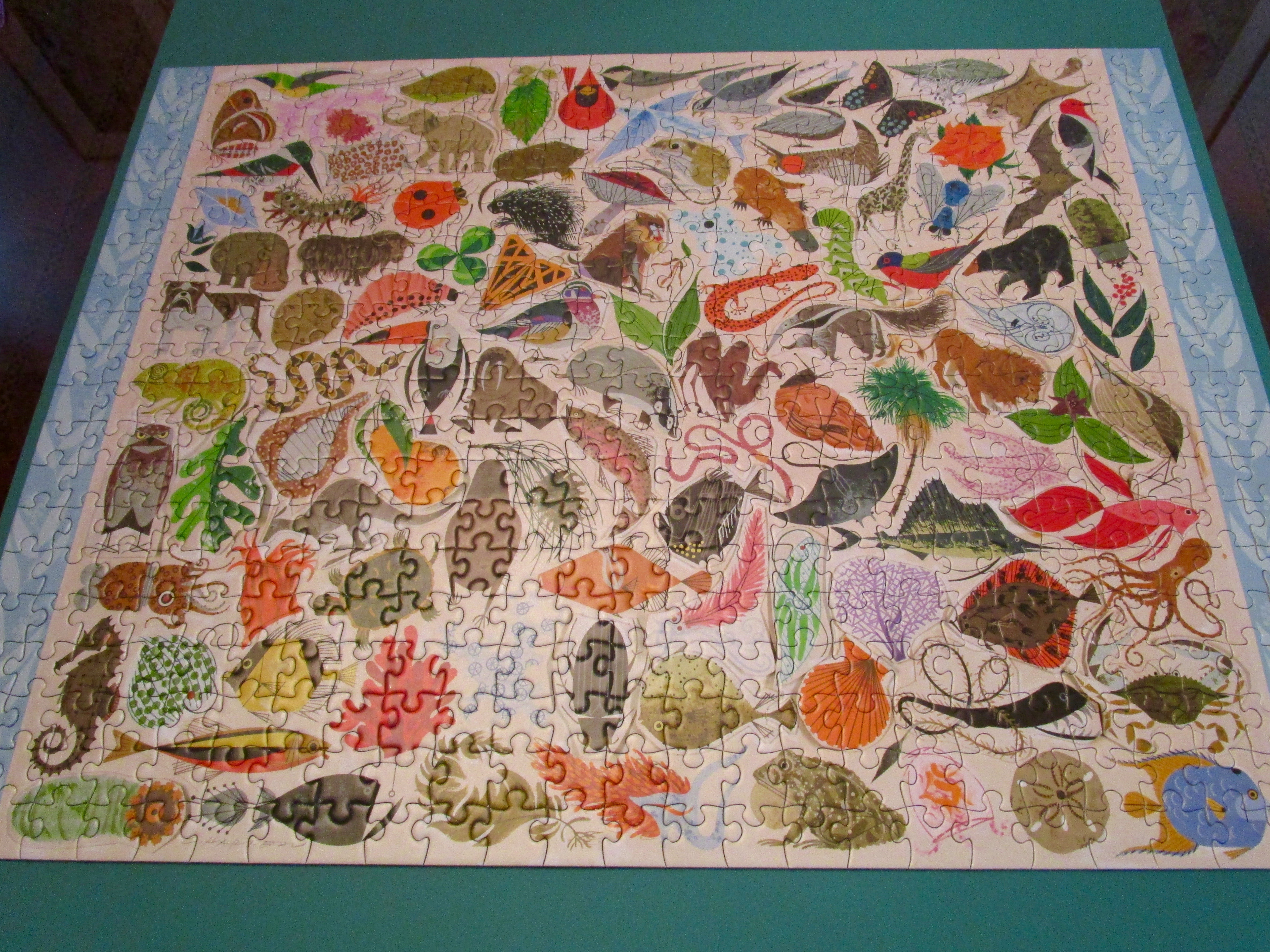 OCTOBERS JIGSAW PUZZLE: THE TREE OF LIFE BY CHARLEY HARPER  (GUYLA, This is headed your way.)