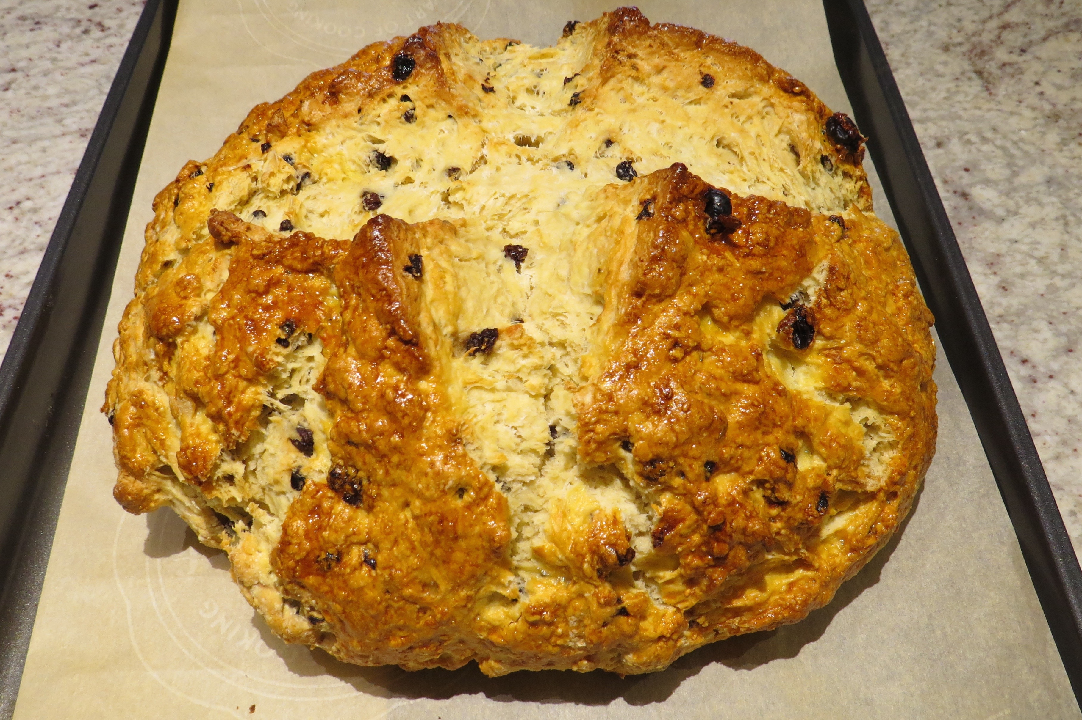 Irish Whiskey Soda Bread and not Baguettes?