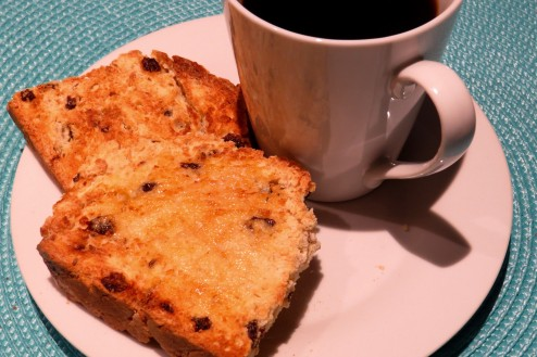 Day Two - Soda Bread makes perfect toast.