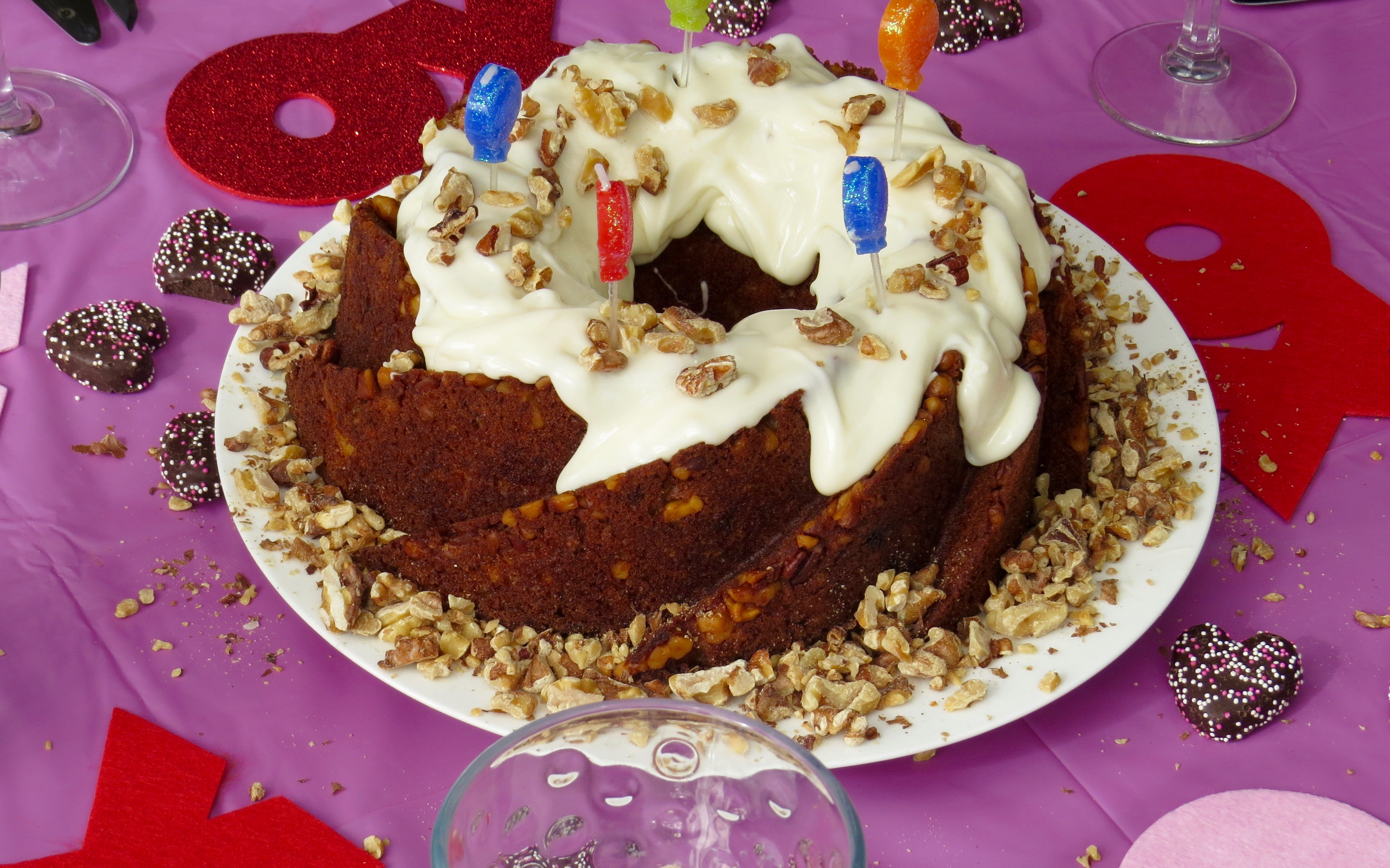 Hummingbird Cake, a  traditional southern classic