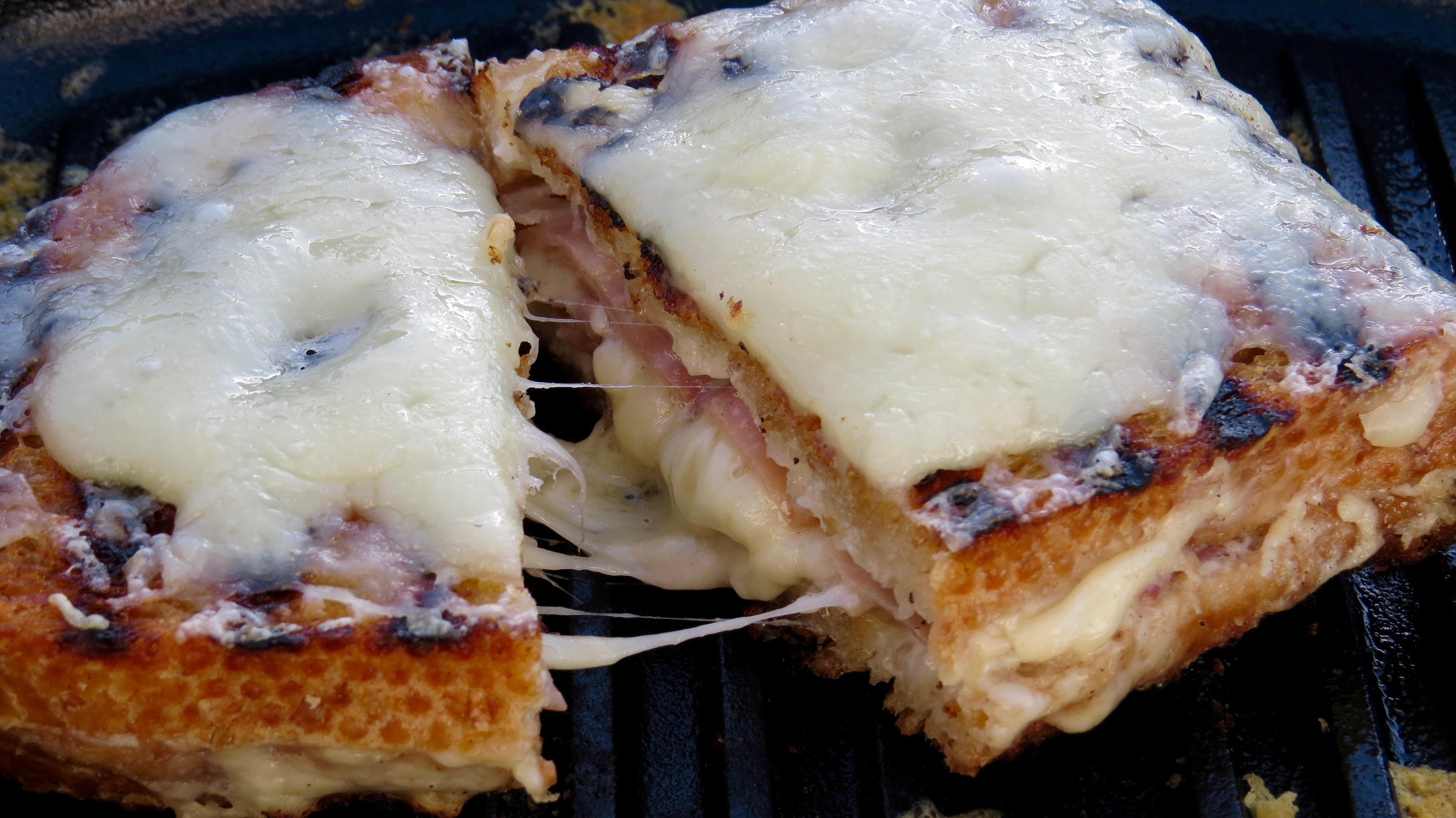 David Lebovitz's CROQUE MONSIEUR from My Paris Kitchen cookbook