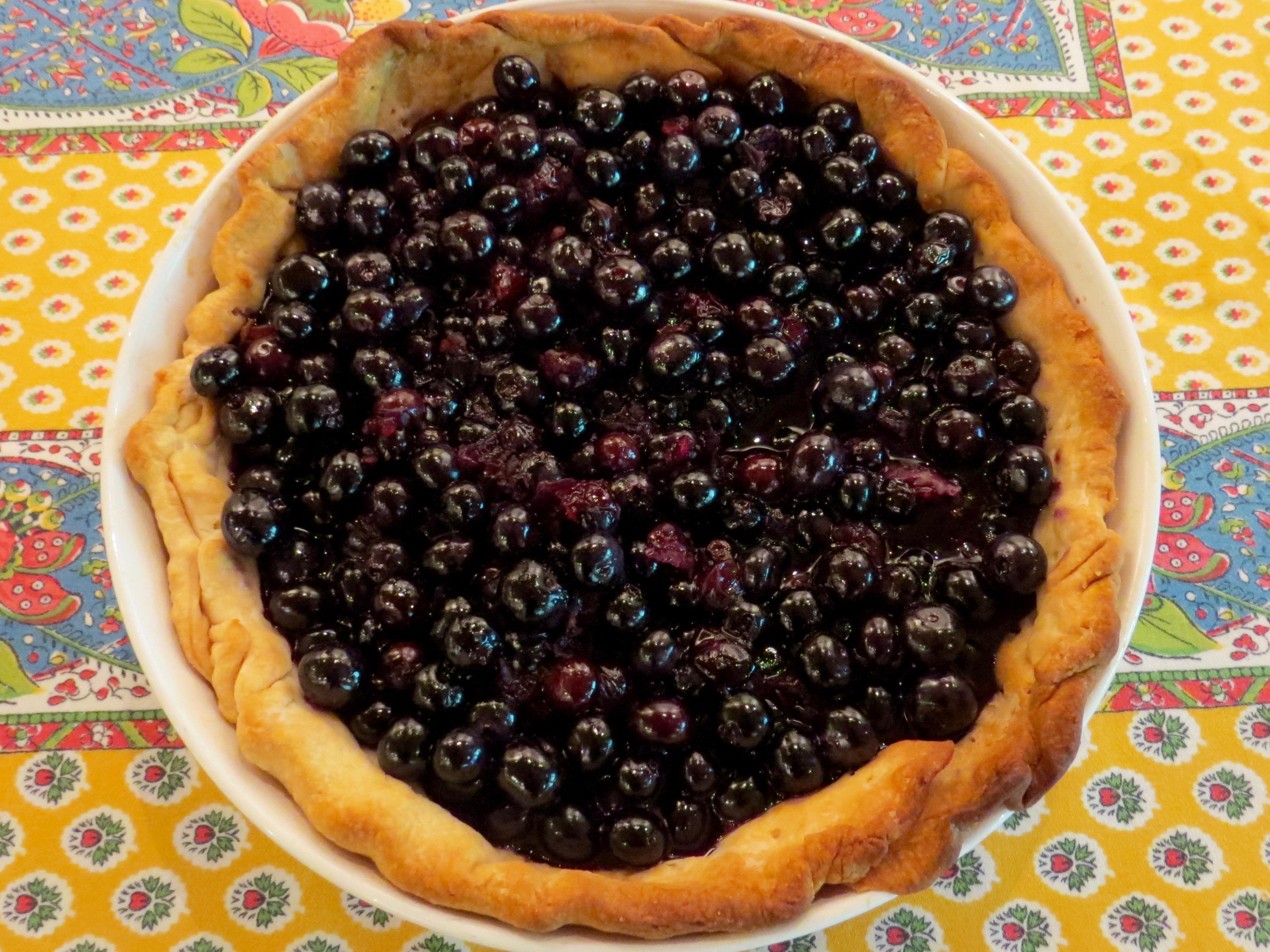 ROSE LEVY BERANBAUM'S FRESH BLUEBERRY PIE FEATURED IN FOOD 52's GENIUS RECIPES cookbook.
